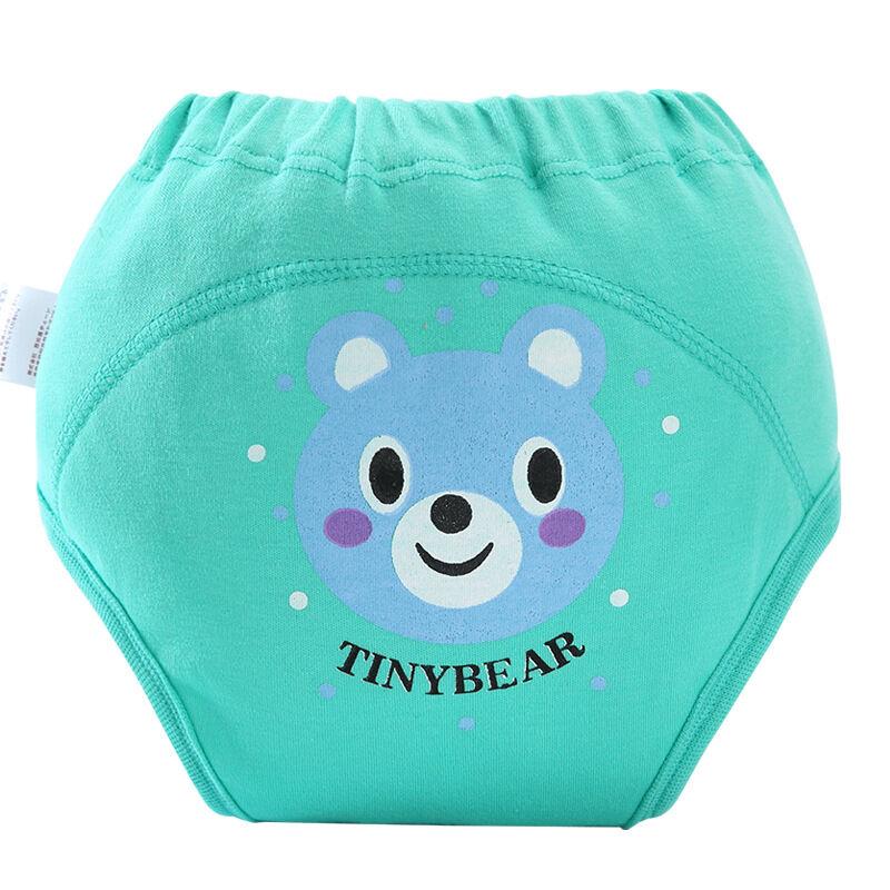 Coton lavable bébé couche-culotte pantalon d'entraînement imperméable respirant sous-vêtements