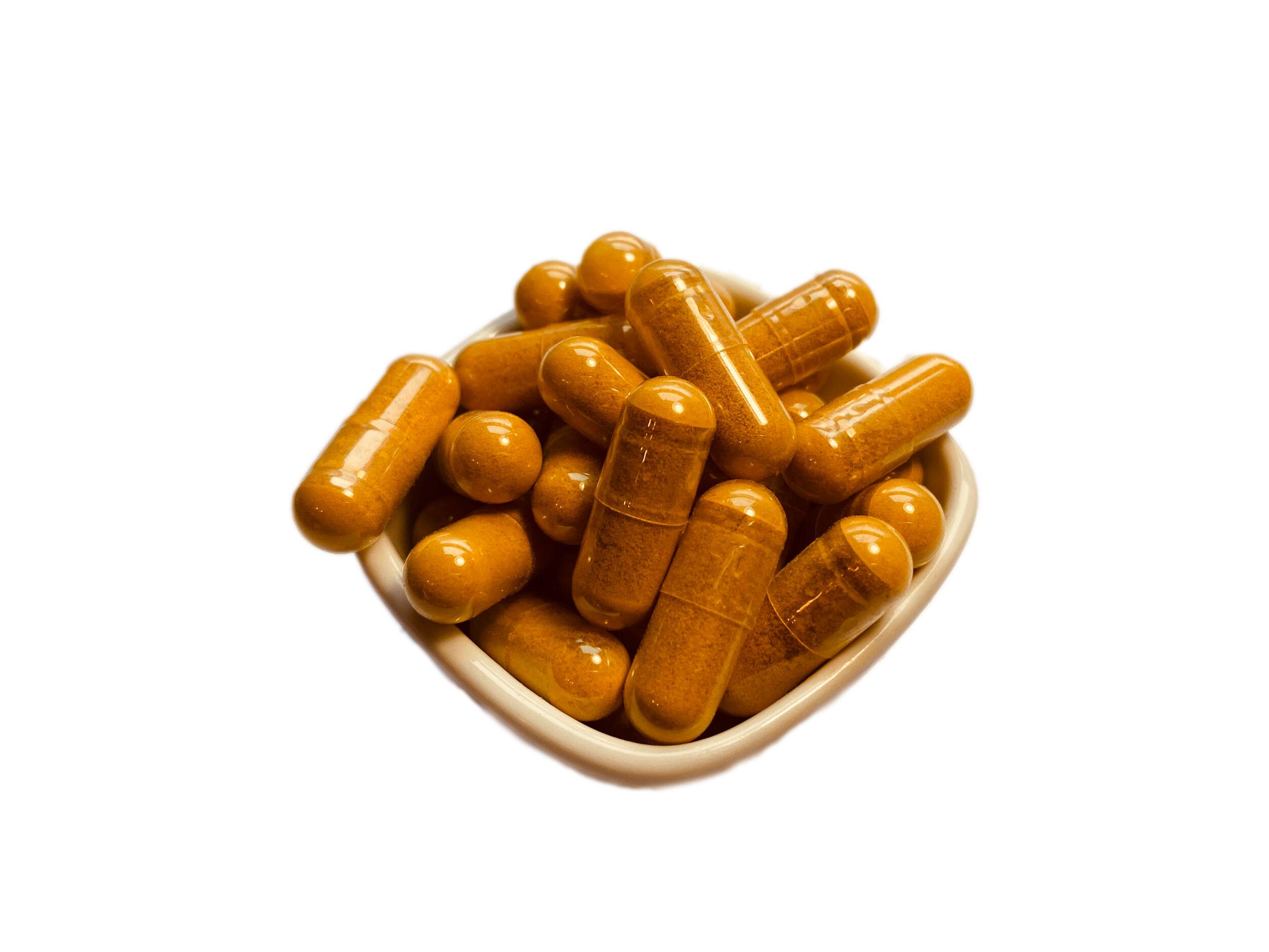 Gina-Épices Mélange 9-5-1 de Madagascar : Curcuma, Gingembre, Poivre noir - Gélules 600 mg