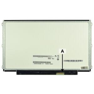 2-Power Dalle écran LCD 12.5 WXGA HD 1366x768 LED mat - SCR0214B