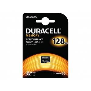 Duracell Performance SD Card with SD Adapter 128GB/Class 10 UHS-1 - DRMSD128PE