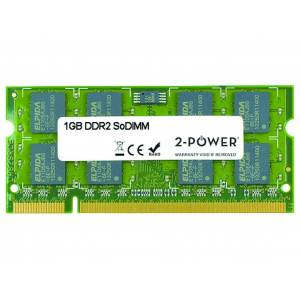 2-Power Mémoire soDIMM 1GB DDR2 667MHz - 2P-370-11828