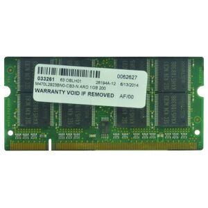 2-Power Mémoire soDIMM 1GB PC2700 333MHz - 2P-PA3313S-2M1G