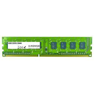 2-Power Mémoire 8GB MultiSpeed 1066/1333/1600 MHz DIMM - MEM0304A