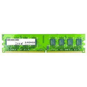 2-Power Mémoire 2GB DDR2 667MHz DIMM - MEM1202A