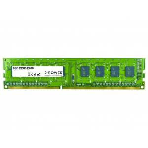 2-Power Mémoire 8GB DDR3L 1600MHz 2Rx8 1.35V DIMM - MEM2205A