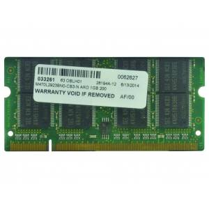 2-Power Mémoire soDIMM 1GB PC2700 333MHz - MEM4002A