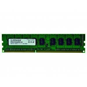 2-Power Mémoire 4GB DDR3L 1600MHz ECC + TS UDIMM - MEM8602A