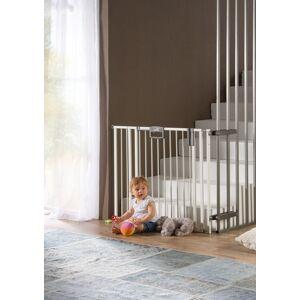 Geuther Barrière de porte et d'escalier Easylock Plus en métal à fixer par pression -