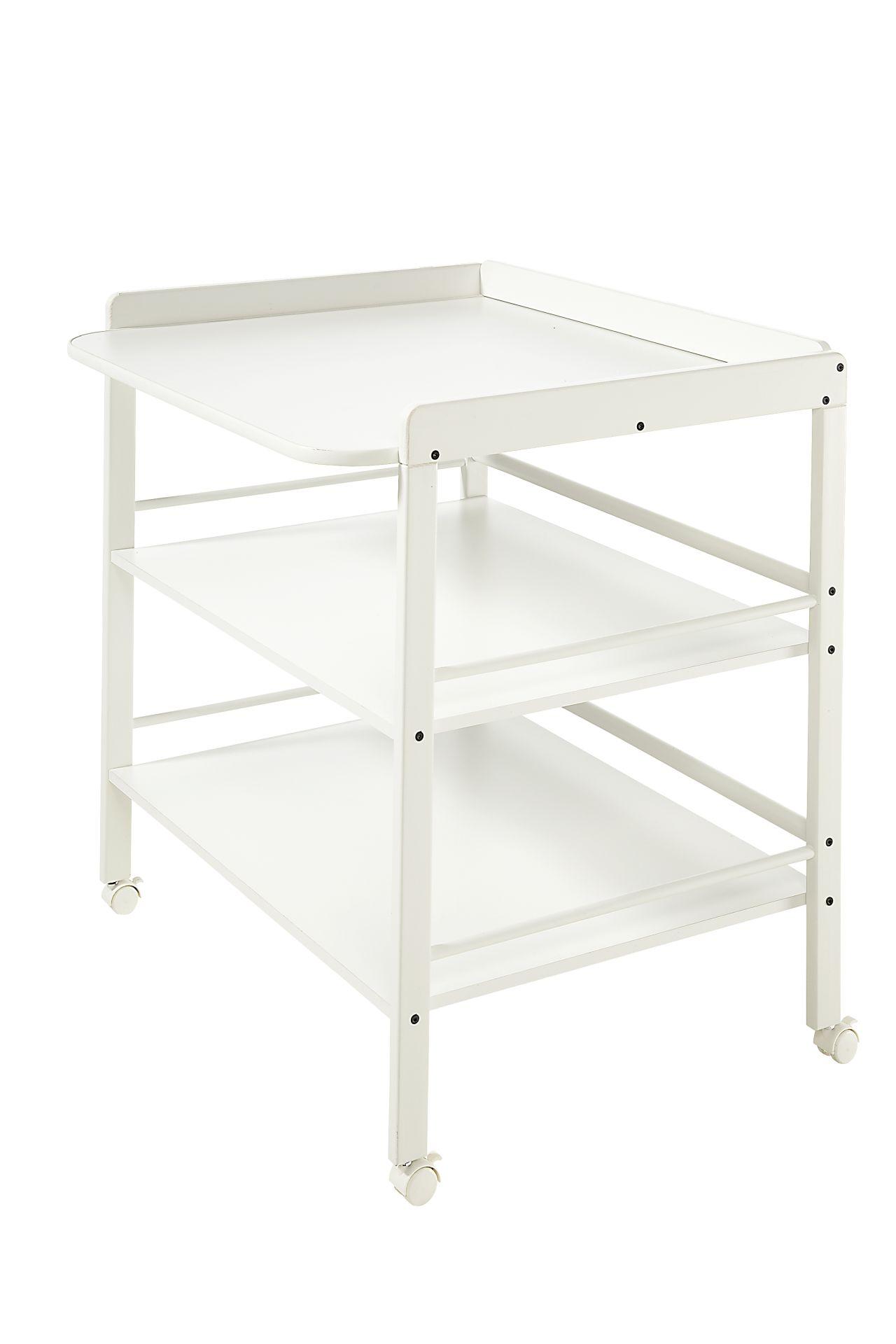 Geuther Table à langer Clara - Weiß