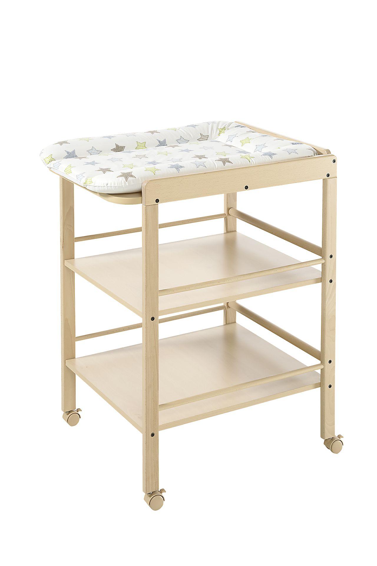 Geuther Table à langer Clarissa - Natur