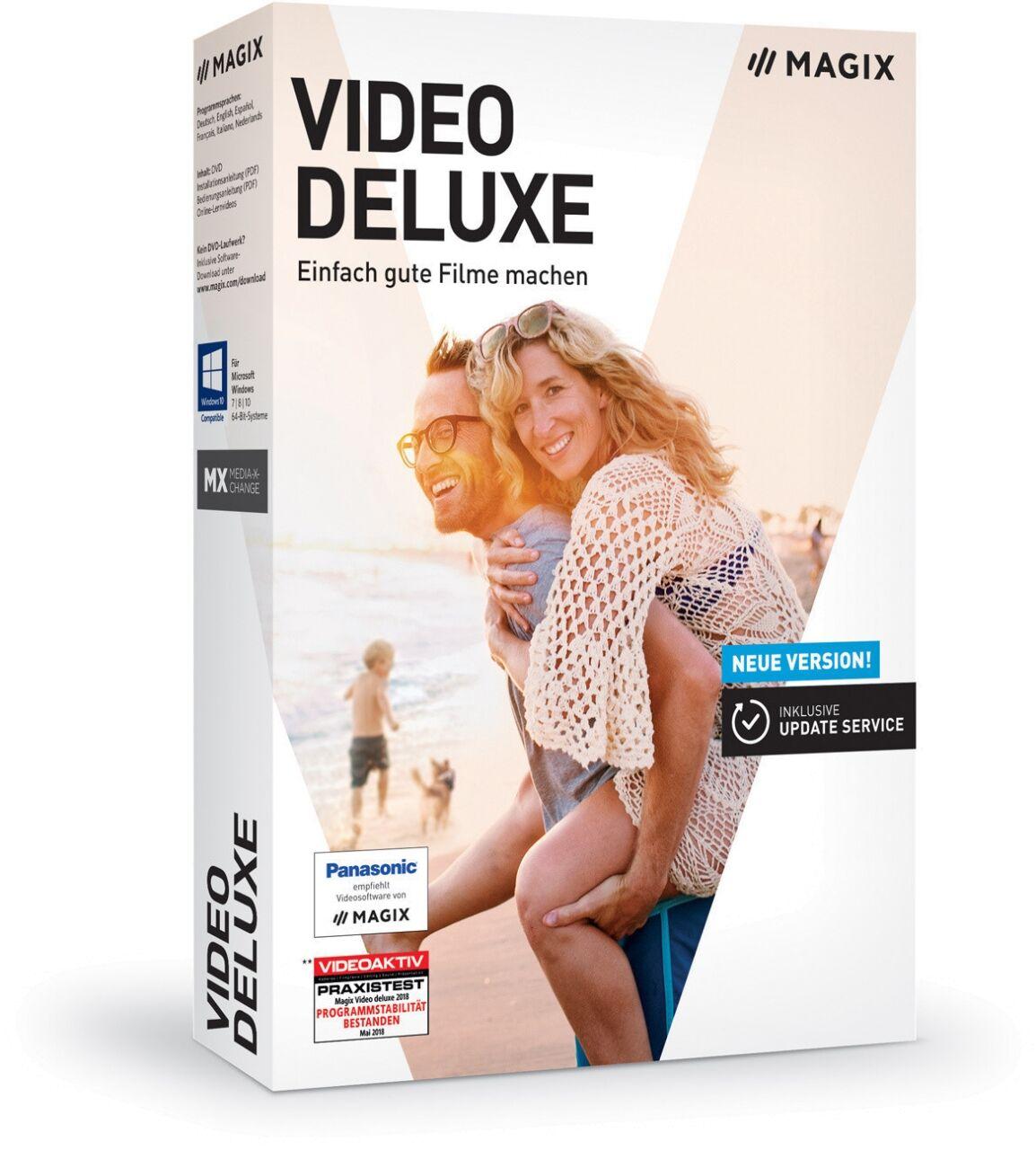 MAGIX Video Deluxe 2019 Premium Gagnez Télécharger Téléchargement instantané