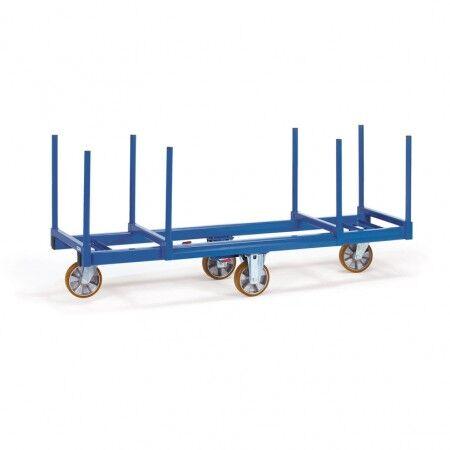 Axess Industries Chariot charges longues avec barres de maintien