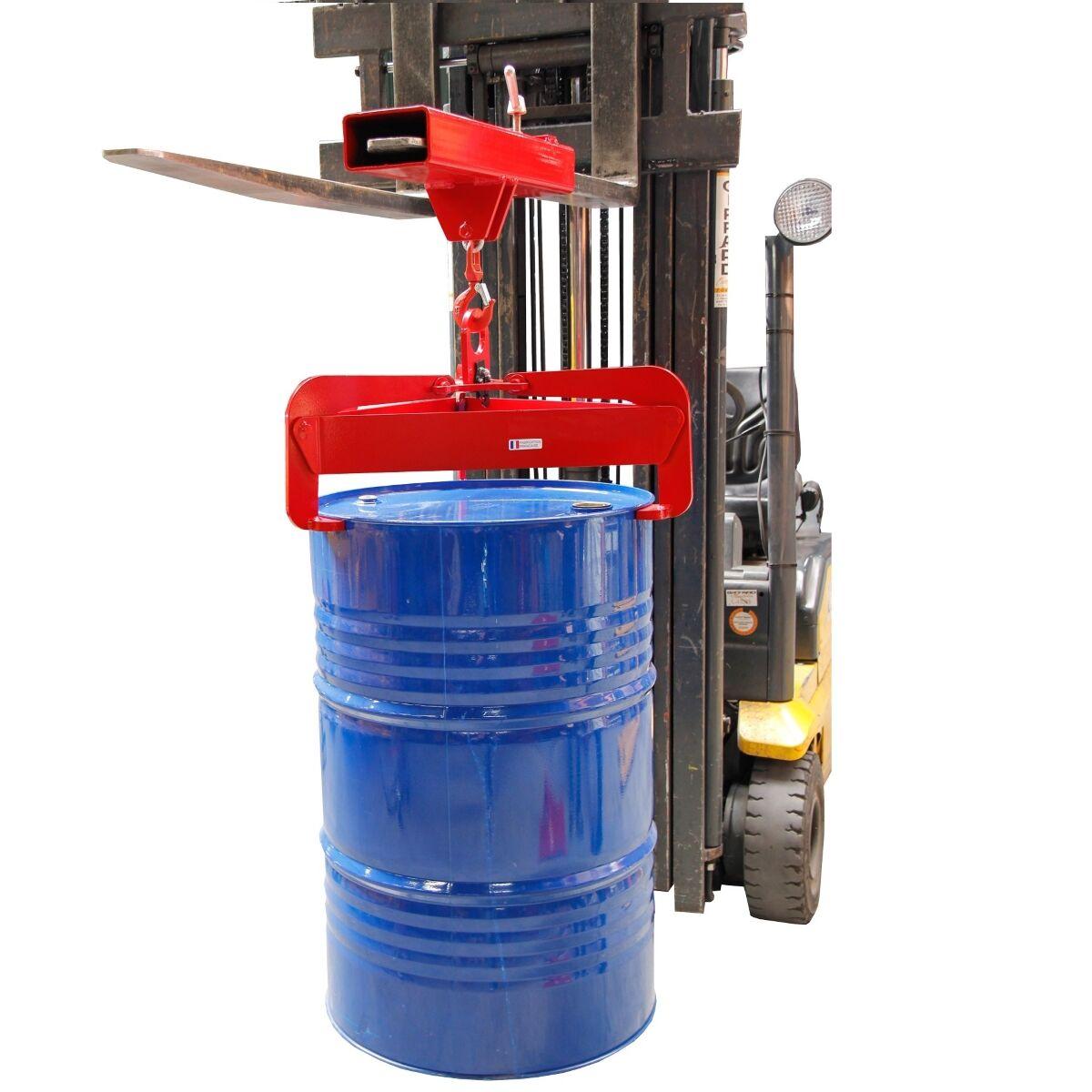Axess Industries Pince à fût verticale automatique