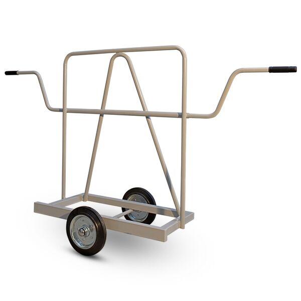 Axess Industries Chariot porte-panneaux à poignées télescopiques   Type de roues Caoutchouc