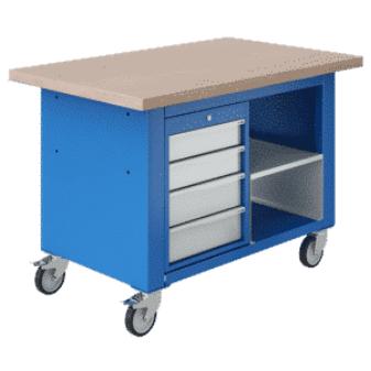 Axess Industries Etabli mobile à tiroirs