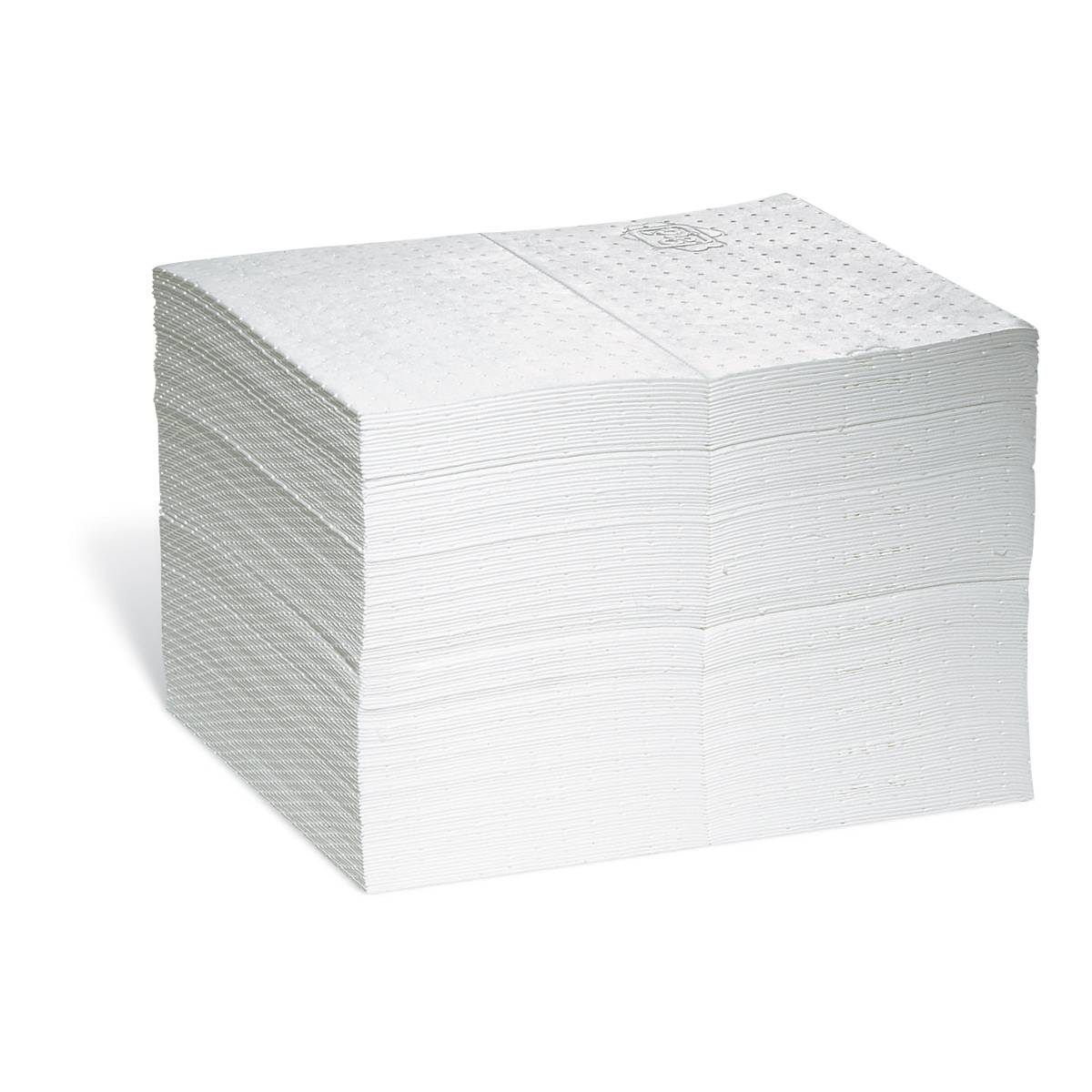 Axess Industries Feuille et rouleau absorbants pour huiles - 8 couches   Absorption 76,2 L   C...