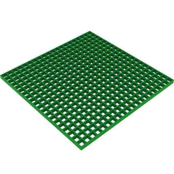 Axess Industries Caillebotis industriel résistant en polyester   Dim. Lxl 1000 mm x 2026 mm   ...