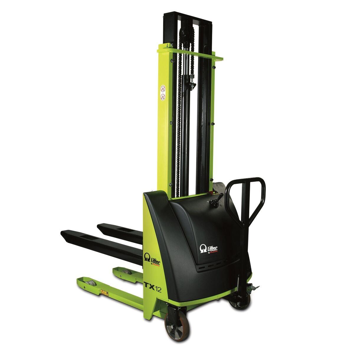 Axess Industries Gerbeur semi-électrique PRAMAC TX   Charge 1000 kg   Haut. max. levée 900 mm