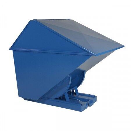 Axess Industries Benne auto-basculante avec couvercle haut   Volume 400 L