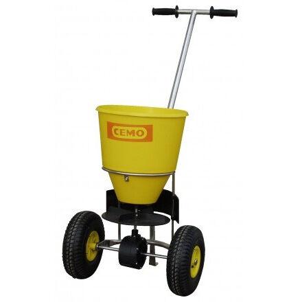 Axess Industries Epandeur à sel petite surface   Type de roues Caoutchouc