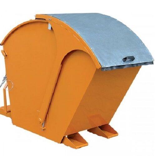 Axess Industries Benne basculante avec couvercle bombé   Finition Peinte   Volume 750 L