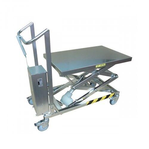 Axess Industries Table élévatrice électrique en inox charge 200 kg