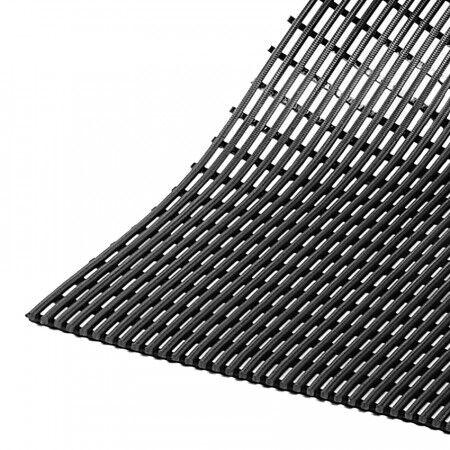 Axess Industries Caillebotis hygiénique antidérapant et drainant   Gris   Dim. lxL 50 cm x 10 m