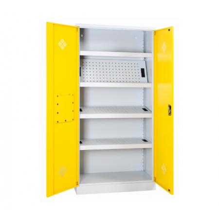 Axess Industries Armoire de sécurité 2 portes pour produits dangereux   Capacité rétention & N...