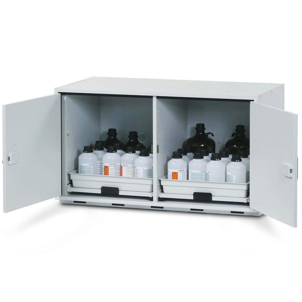 Axess Industries Armoire pour produits chimiques acier/mélaminé   Dim. ext. Lxpxh 590 x 570 x ...