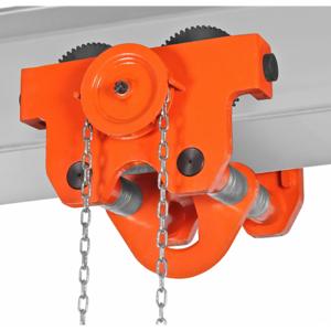 Axess Industries Chariot manuel à chaîne pour charges élevées   CMU 10000 kg - Publicité