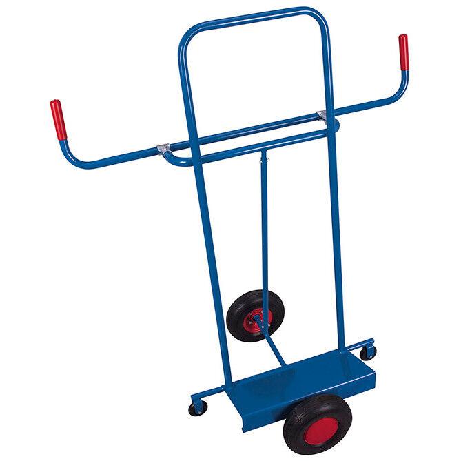 Axess Industries Chariot porte-panneaux léger   Type de roues Pneumatique