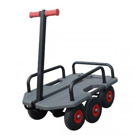 Axess Industries Chariot tout terrain   Dim. ext. Lxlxh 990 x 640 x 350 mm   Type de roues Pne...