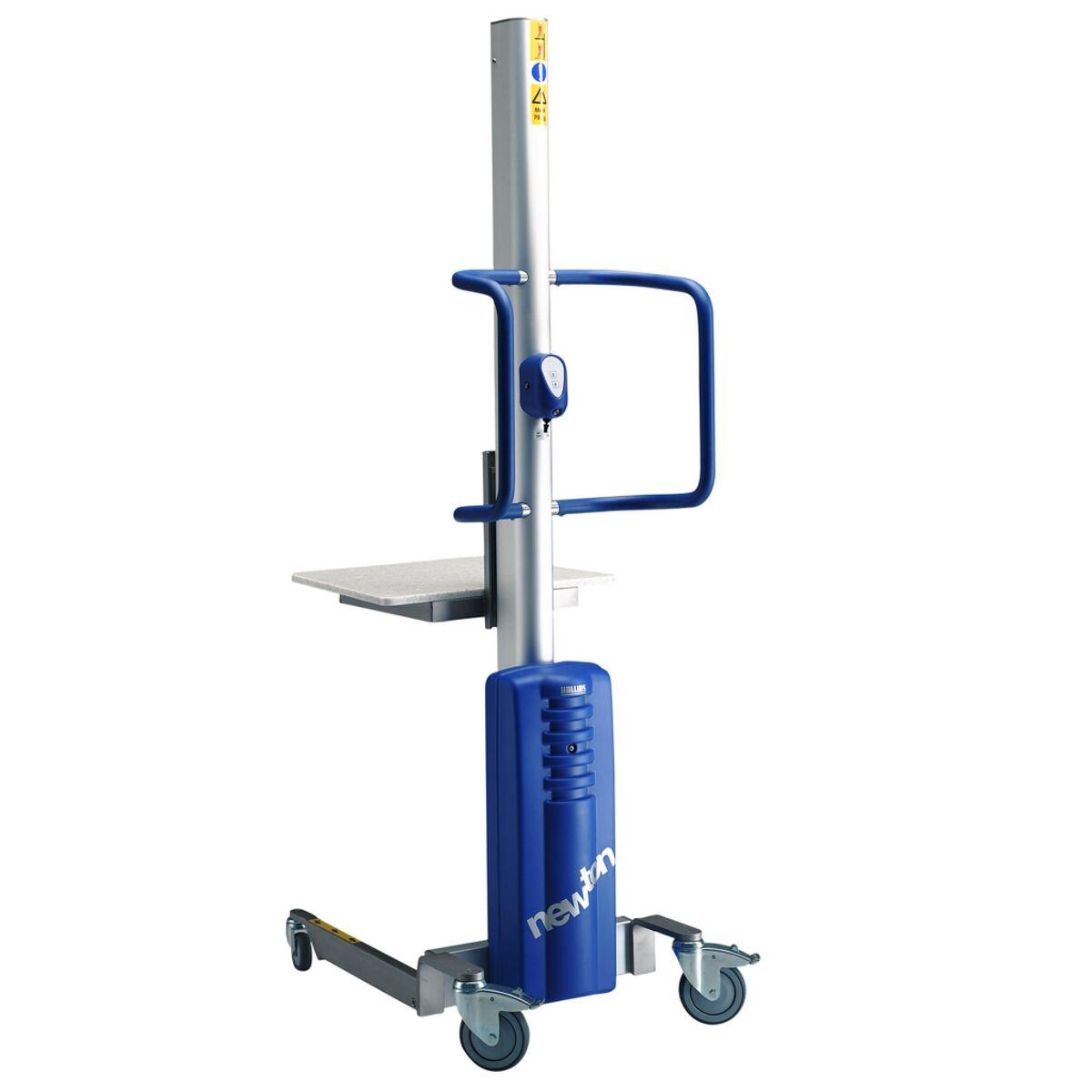 Axess Industries Gerbeur semi-électrique léger et compact   Charge 150 kg   Dim. ext. Lxpxh 52...