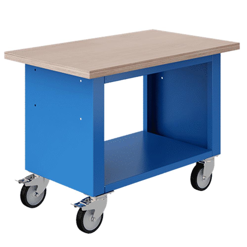 Axess Industries Etabli mobile à plancher   Dim. ext. Lxlxh 1200 x 750 x 840 mm