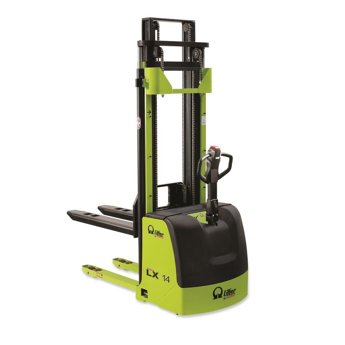 Axess Industries Gerbeur électrique usage intensif PRAMAC LX   Charge 1200 kg   Haut. max. lev...