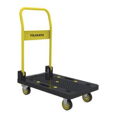 Axess Industries Chariot professionnel à dossier repliable   Charge 150 kg
