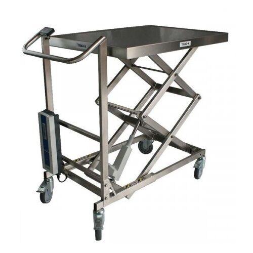 Axess Industries Table élévatrice électrique en inox charge 100 kg