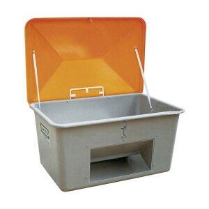 Axess Industries Bac à sel ou à sable avec ouverture d'écoulement   Volume 200 L