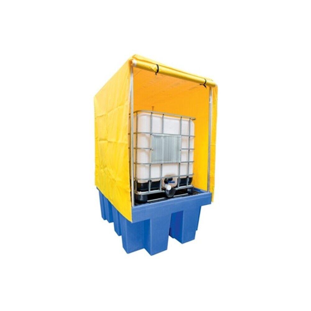 Axess Industries Bac de rétention polyéthylène pour 1 IBC