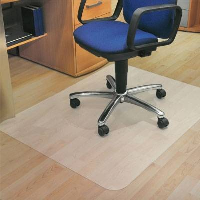Axess Industries Tapis protège sol pour parquet   Dim. ext. Lxl 119 x 89 cm
