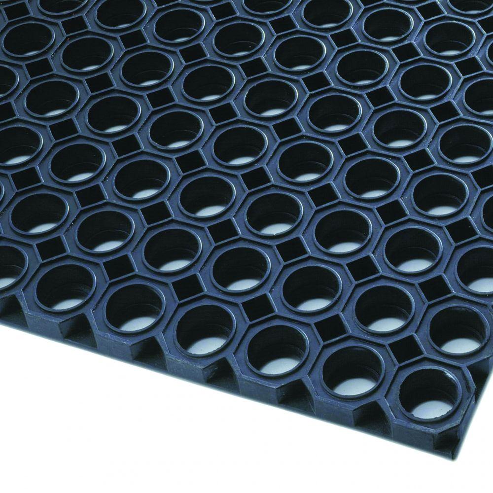 Axess Industries Caillebotis d'entrée robuste grattant et drainant
