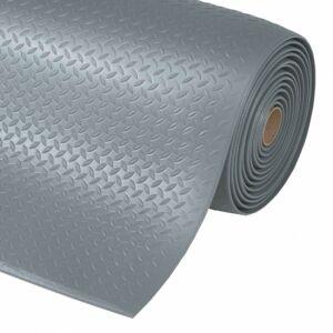 Axess Industries Tapis antifatigue tôle diamant   Coloris Noir   Dim. lxL 60 cm x mètre linéaire