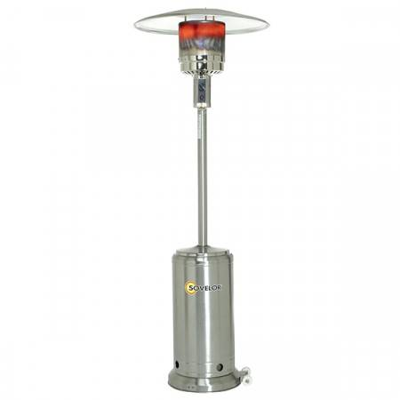 Axess Industries Parasol chauffant mobile radiant au gaz propane