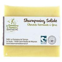 Le Domaine De Tamara Shampooing solide cheveux normaux à gras sans huiles essentielles 1 unité de 100g - Le Domaine De Tamara