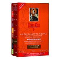 Henne color Poudre Colorante Végétale Brun Voluptueux 100 g - Henne color