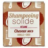 Lamazuna Shampoing solide Cheveux Secs - Vanille/Coco 55 g - Lamazuna