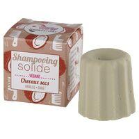 Lamazuna Shampoing solide Cheveux Secs 55 g (Vanille - Coco) - Lamazuna