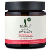 Sukin Crème de jour à l'huile de rose musquée 120 ml de crème - Sukin