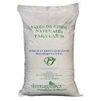 Dismag Sels d'Epsom naturels pour les bains 10 kg - Dismag