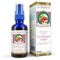 Marnys Huile sèche pour le corps à l'huile de rose musquée et à l'argan 50 ml - Marnys
